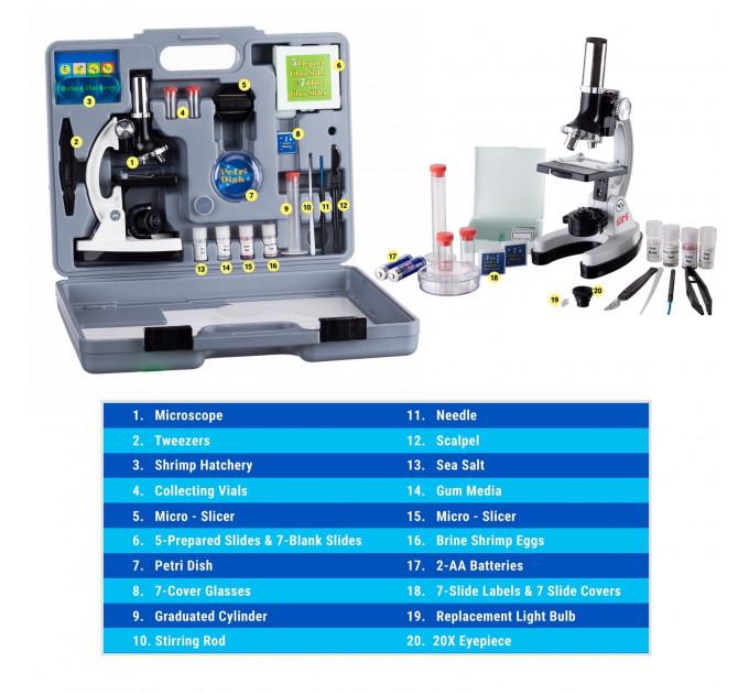 Микроскоп для детей AmScope Kids Starter Compound Microscope